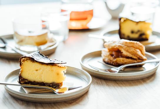 バスク風チーズケーキ